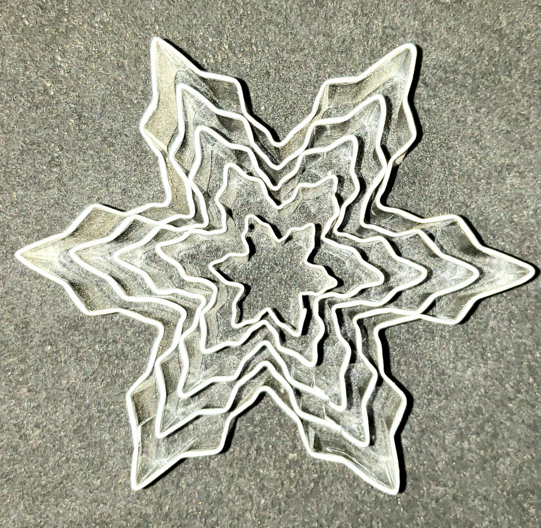 COOKIE CUTTER SET SNOWFLAKE1 5PC.