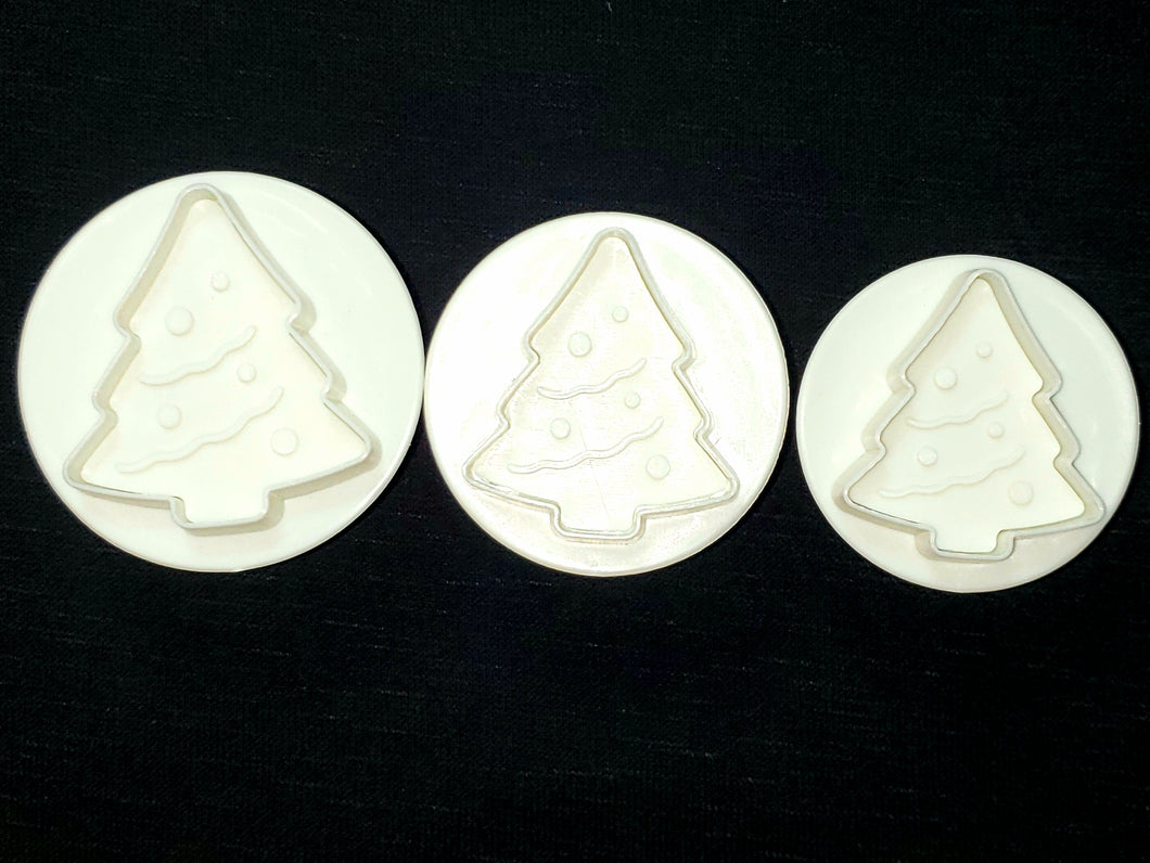 PLUNGER CUTTER 3PC. XMAS TREE