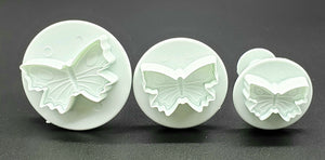 PLUNGER CUTTER SET SMALL BUTTERFLY 3PC.