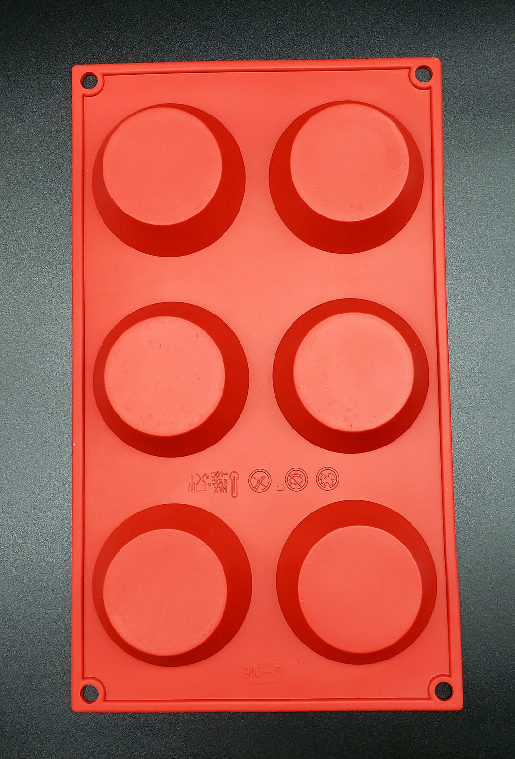 SILICONE MOLD/PAN TARTLET 2.3oz. 2.76