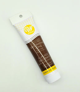 ICING TUBE 4.25oz. CHOCOLATE BROWN