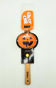 SPATULA WITH HALLOWEEN COOKIE CUTTER
