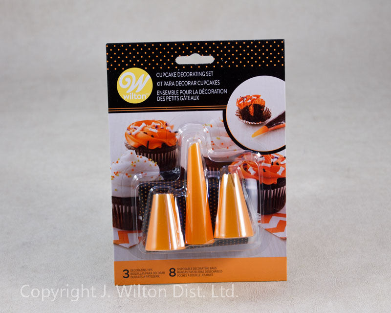 HALLOWEEN CUPCAKE DECORATING KIT 11PC.