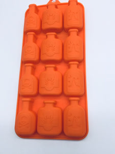 SILICONE CANDY MOLD SPELL BOTTLES