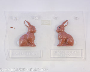 "RABBIT SITTING 2 1/2"" 3D X1"