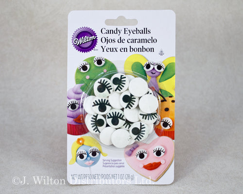 CANDY EYEBALLS W/ EYELASH