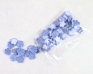 FORGET-ME-NOT ROYAL SMALL 50PC BLUE