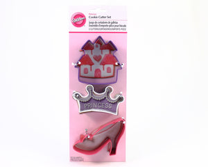 COOKIE CUTTER 3PC PRINCESS