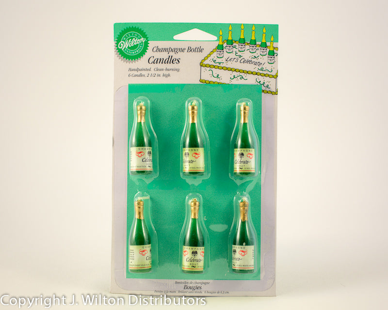 CHAMPAGNE CANDLE 6PC SET