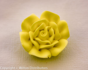 "ROSE 1 1/4"" 32PC YELLOW"