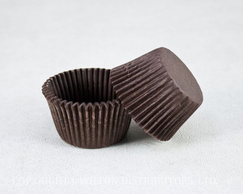 BAKING CUP 40x30mm 500pc. BROWN