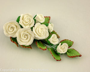ROSE BUNCH PETITE WHITE