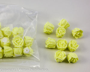 "ROSE 1/2"" 24PC YELLOW"