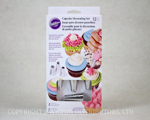 CUPCAKE DECORATING SET 12PC.