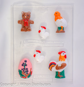 ROOSTER BEAR ETC. X6