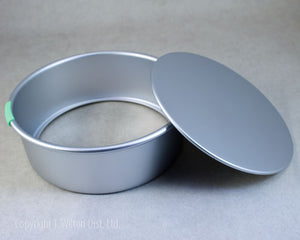 "CAKE PAN REMOVABLE BOTTOM 9""x3"" ROUND"