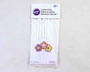 "COOKIE STICKS 6"" 20PC"