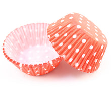 STANDARD BAKING CUP-DOTS-RED