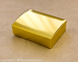 RECTANGLE BOX GOLD