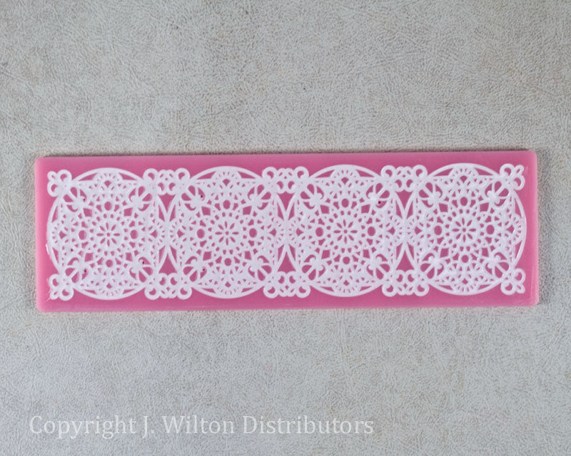 SILICONE LACE MAT 8