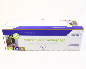 "DISPOSABLE BAGS 18"" 100PC COMFORT GREEN"
