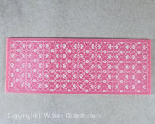 "SILICONE LACE MAT 11""x4"" HEART DESIGN"
