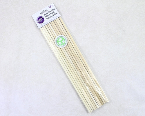 DOWEL RODS-BAMBOO 12PC