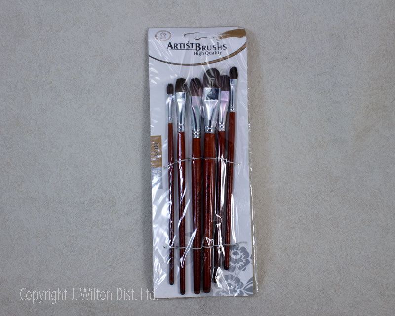 DECORATING BRUSH SET FLAT
