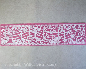 "SILICONE LACE MAT 16""x4"" MUSICAL NOTE"