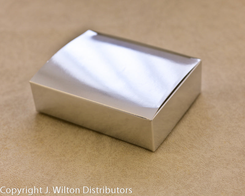 RECTANGLE BOX SILVER