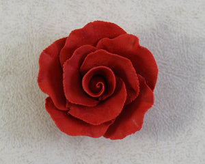 "FORMAL ROSE 2"" 6PC RED"