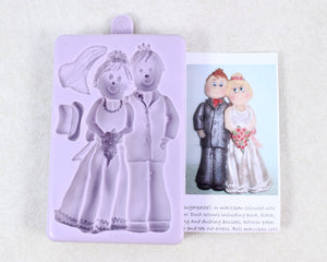 FONDANT MOLD- BRIDE/GROOM