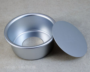 "CAKE PAN REMOVABLE BOTTOM 4""x2"" ROUND"