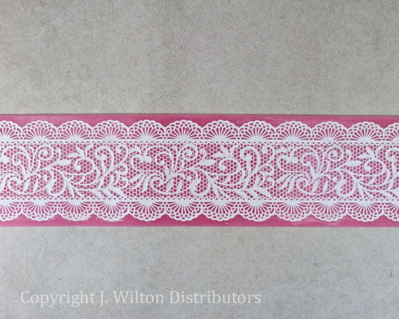 SILICONE LACE MAT 16