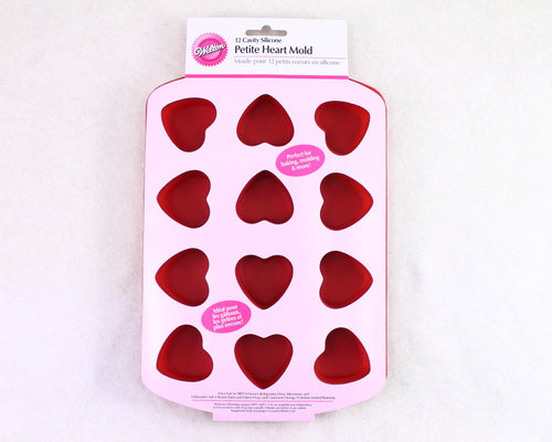 SILICONE HEART PAN PETITE