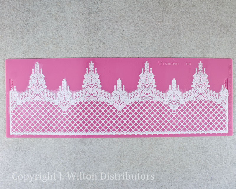 SILICONE 3D LACE MAT CROWN 14