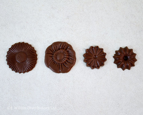 POLYCARBONATE CHOCOLATE MOLD FLOWER BOUQUET