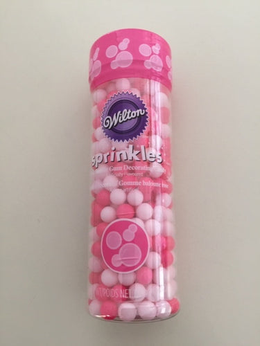 Candy Decorations Bubble Bum Pink