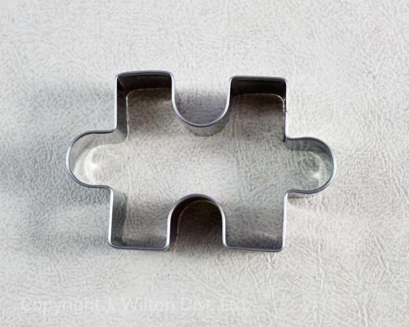 COOKIE CUTTER STAINLESS STEEL PUZZLE PIECE 2.5
