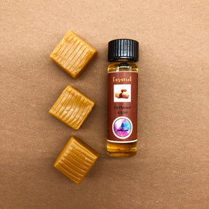 caramel oil favouring