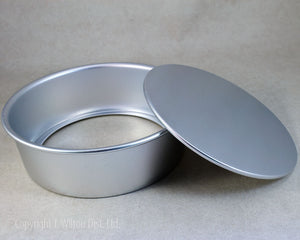 "CAKE PAN REMOVABLE BOTTOM 10""x3"" ROUND"