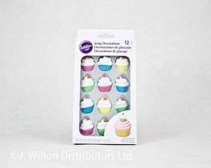 ICING DECORATION ROYAL 12PC CUPCAKE