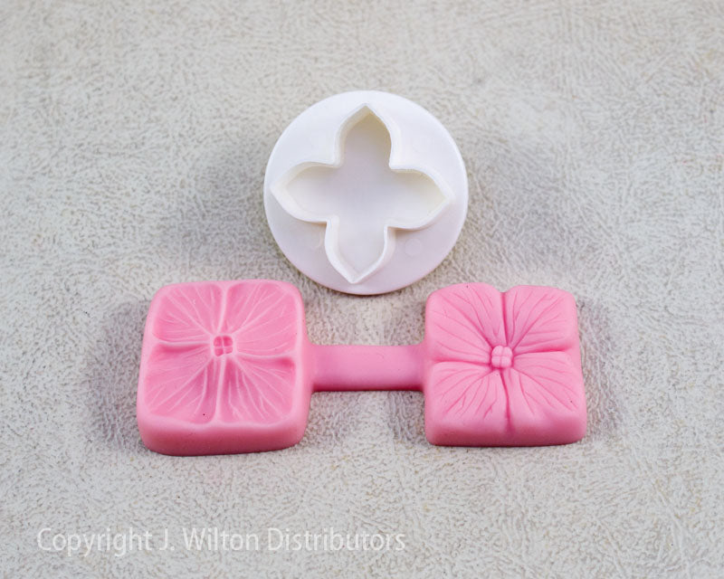SILICONE VEINER MOLD 4 BLOSSOM FLOWER 2pc.