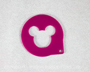 CAKE STENCIL MICKEY MOUSE 1pc.