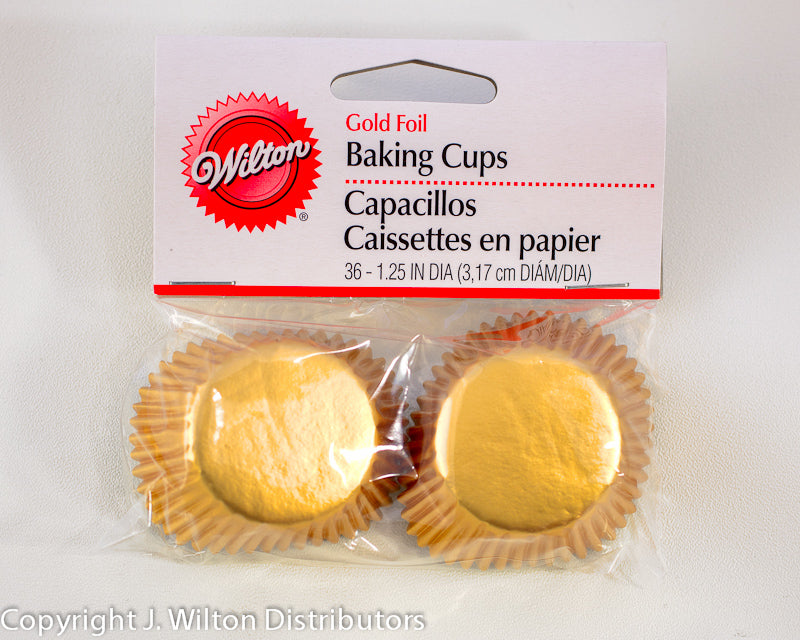 MINI BAKING CUP GOLD