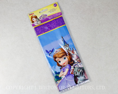 TREAT BAG SOFIA THE FIRST 16 BAGS