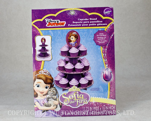 CUPCAKE & TREAT STAND SOFIA THE FIRST