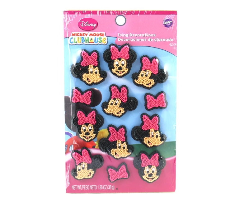 MINNIE ICING DECORATIONS