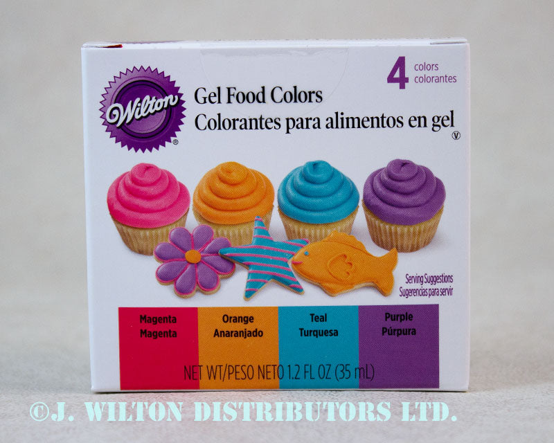 ICING COLOR KIT 4COLOR BRIGHT
