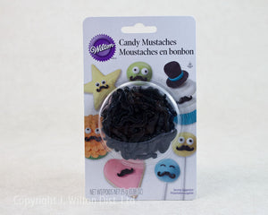 CANDY DECORATING MUSTACHE 25g